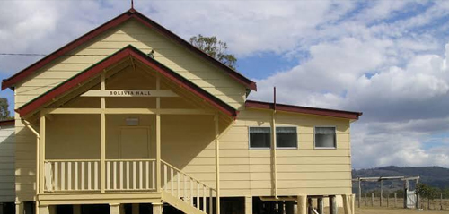 Find out more about Bolivia Hall  - Public Hall in Tenterfield.
