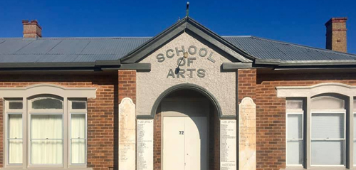 Find out more about Deepwater School of Arts - Public Hall in Deepwater.