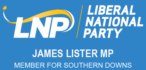 Find out more about James Lister MP - Member of Parliment in Stanthorpe.
